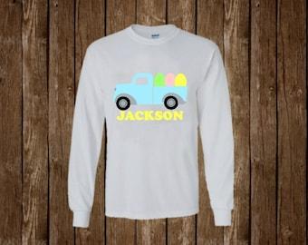 Boys Easter Shirt - Easter Shirt - Easter Egg Shirt - Easter Eggs - Easter