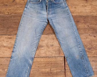 Levis True Vintage 1950's Big E 501xx Denim Jeans. 28 x 28. HW51.
