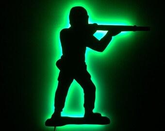 Illuminated LED Armyman