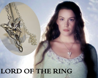Necklace with pendant  inspired by the saga Lord of the ring