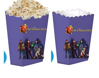Descendants treat boxes