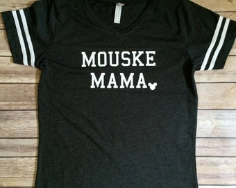 Mouseketeer Family- Mousekemama Shirt