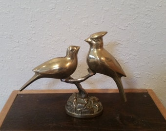 brass love bird's by lenords