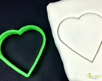 Heart Shaped Cookie Cutter Valentine's Day Gift Cookie Cutter Wedding Bridal Shower Gift