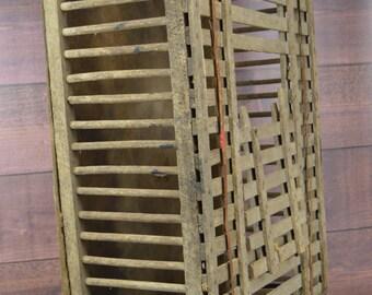 Vintage Primitive Chicken Crate, Antique Chicken Coop, Primitive Home Decor, Rustic, Farm House, Country