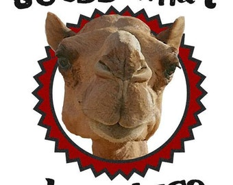 Hump Day Camel # 10  8 x 10 - T Shirt Iron On Transfer
