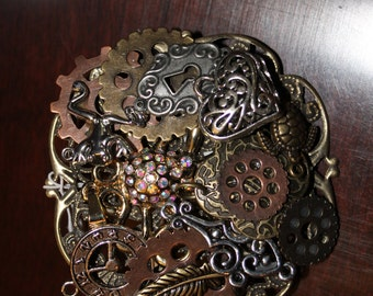 CLEARANCE 40% OFF-A0040-Steampunk Pin/Broche/Necklace