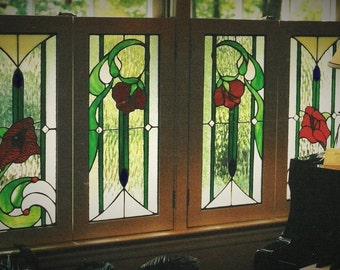 Custom Art Glass Panels