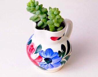 Succulents in a Vintage Cup, Succulent Planter, Succulent Pot