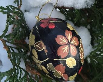 Holiday Christmas Egg Ornaments