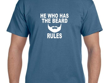 Husband Gift Fathers Day Gift Brother Gift, Beard shirt Mens Funny Tshirt, Gifts for Husband, Boyfriend Gift, Mens Gift, Funny Tshirts