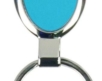 """3 1/4"""" Large Oval Key Ring"""