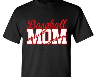 Baseball Mom Shirt, Baseball Shirt, Team Spirit Shirt,Game Day Shirt