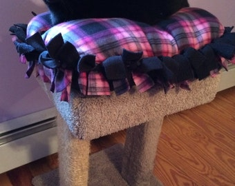 Fleece Cat Bed, Pet Bed, Small Cat Bed, Ready to Ship