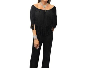 Womens Black Jumpsuit