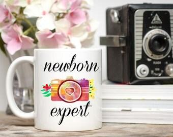 Newborn Expert, Newborn Expert Mug, Photography Mug, Coffee Mug, Photographer Gift, Photography Mugs, Newborn Photographer, Photography