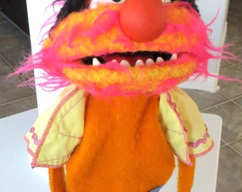Vintage Animal Muppets Puppet Fisher Price #854 Jim Henson 1978 Rare Muppet Doll