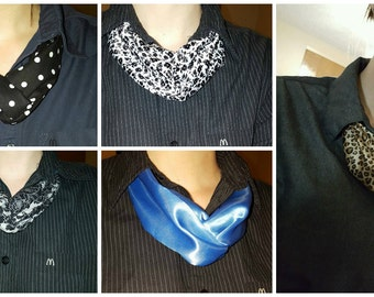 Work Ascot / Scarf / Woman's Tie McDonald's Manager Scarves
