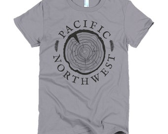 Old Growth - Women's Forest Hiking Nature Tee
