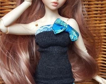 "BJD fantasy dress set ""blue elephant"", 1/3 minifee or other slim MSD"