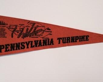 Vintage Souvenir Pennsylvania Turnpike 1940's