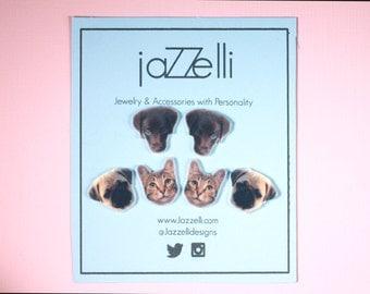Custom Personalized Pet Earrings | Custom Jewelry