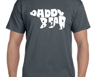 Husband Gift New Dad Gift Boyfriend Gift Papa Bear shirt Gift For Boyfriend Gift for Dad Grandfather Daddy Bear Gift For Brother (T 127)
