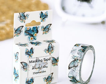 butterfly - Washi Tape, Masking Tape, Planner Stickers