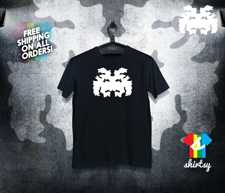Space Invader Shirt Rorschach Blot  Lover Tee Tumblr Shirt Hipster Instagram Shirt Graphic Tee Gift