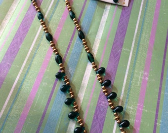 Celtic Queen Necklace and Pierced Earrings Set