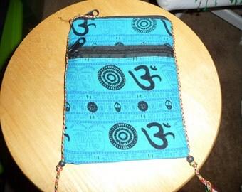 Blue Passport Bag