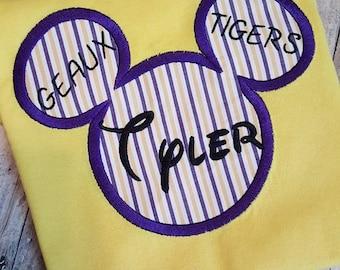 Mickey Mouse LSU Shirt