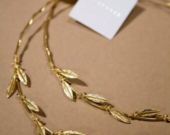 Gold leaf wedding crowns,Stefana.Wedding Crowns.Orthodox Ceremony Crowns , Bridal Crowns.Wedding Headband.Orthodox Wedding Crowns.Στεφανα.