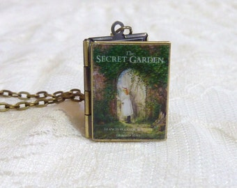 The Secret Garden Story Locket