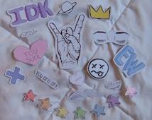 Tumblr Sticker Pack (21 Stickers)
