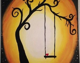 Cute Tree Painting