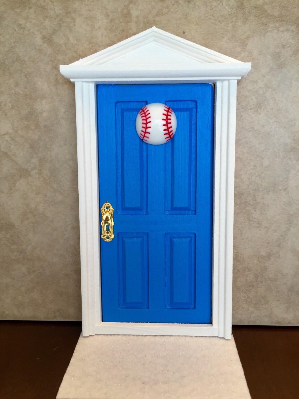 Tooth fairy door boys tooth fair door wooden tooth fairy for Wooden fairy doors that open