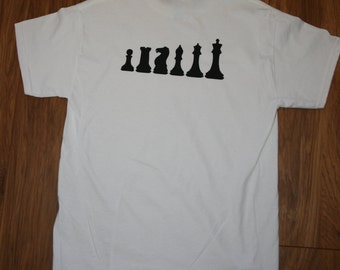 T-shirt with Chess pieces Logo