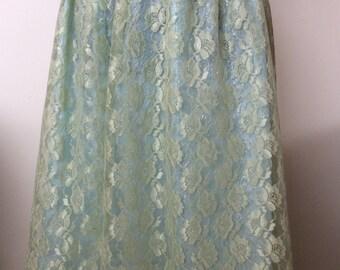 Sea Foam Green Skirt # 230DLSFG