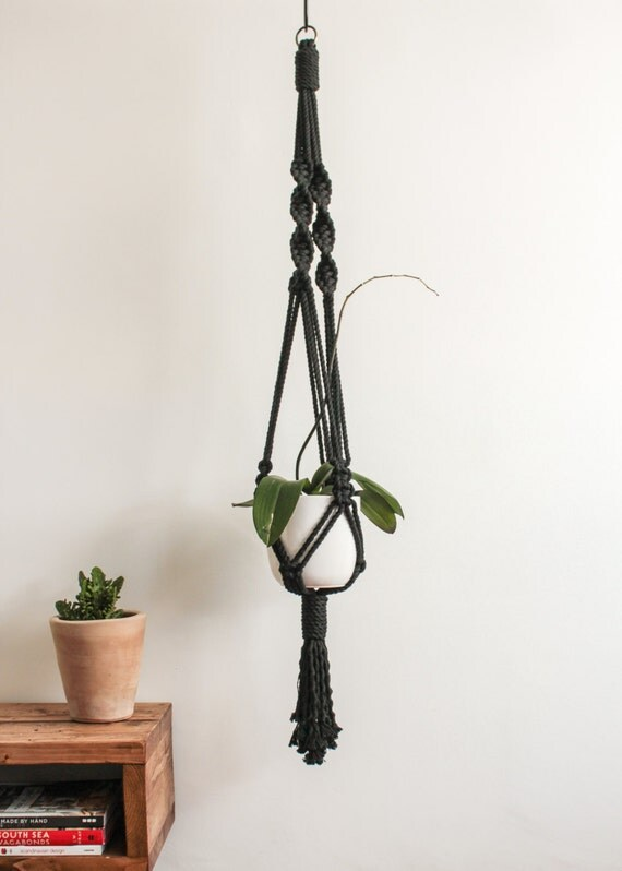 Sale Large Macrame Plant Hanger 100 Cotton Cord By