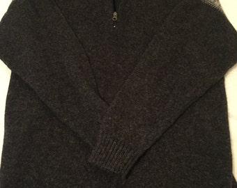 WoolRich 1/4 Zip Long Sleeve Sweater Pullover