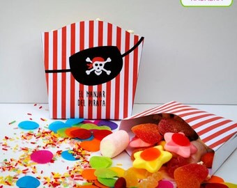 Printable pirate Kit