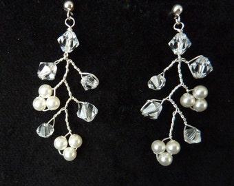 "Bridal Earrings ""Liliana"""