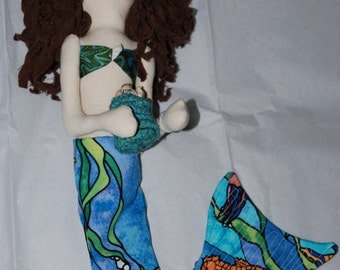 Hali-Cloth Mermaid Doll