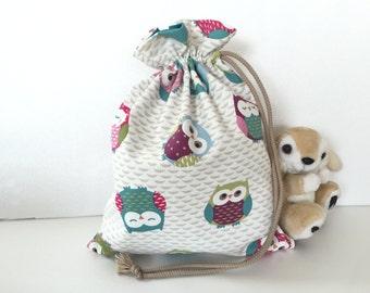 Bag child Patil or baby owls range doudou