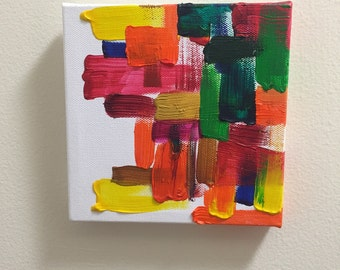 Hope - Original modern abstract acrylic painting on stretched canvas