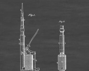 Dental Plugger Patent - Patent Print, Wall Decor, Dental Office Decor, Medical Art, Dental Art, Dentist Decor, Dental Tools, Dentist Patent