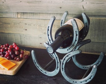 Horseshoe Wine Rack