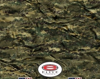 "Digital Marine Cloth 15""x52"" or 24""x52"" Truck/Pattern Print Tree Real Camouflage Sticker Roll or Sheet"
