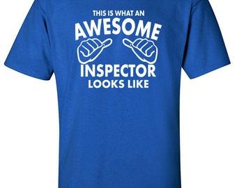 Inspector Gift | FBI Shirt | Awesome Inspector | Workwear | Graduation Gift Ideas | Inspector | Inspection Tee | Gift for Inspector | #526